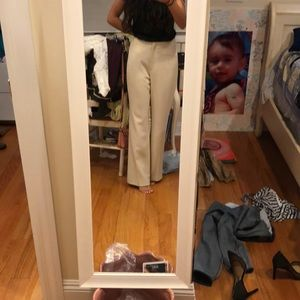 Ann Taylor stretch cream pants